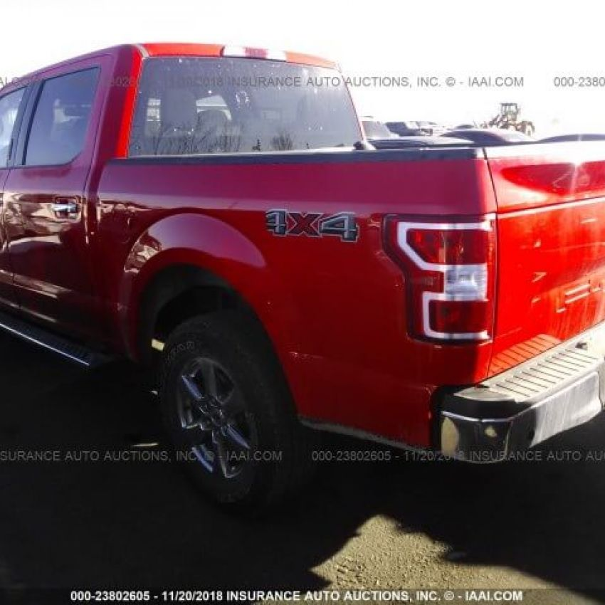 2018 Ford F150 Supercrew Rear Right
